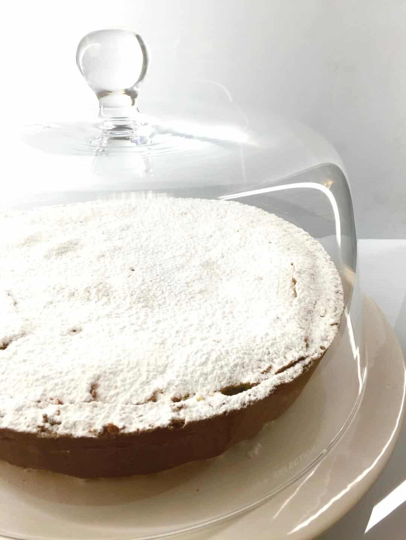 immagine della crostata di ricotta al rum su biancolievito