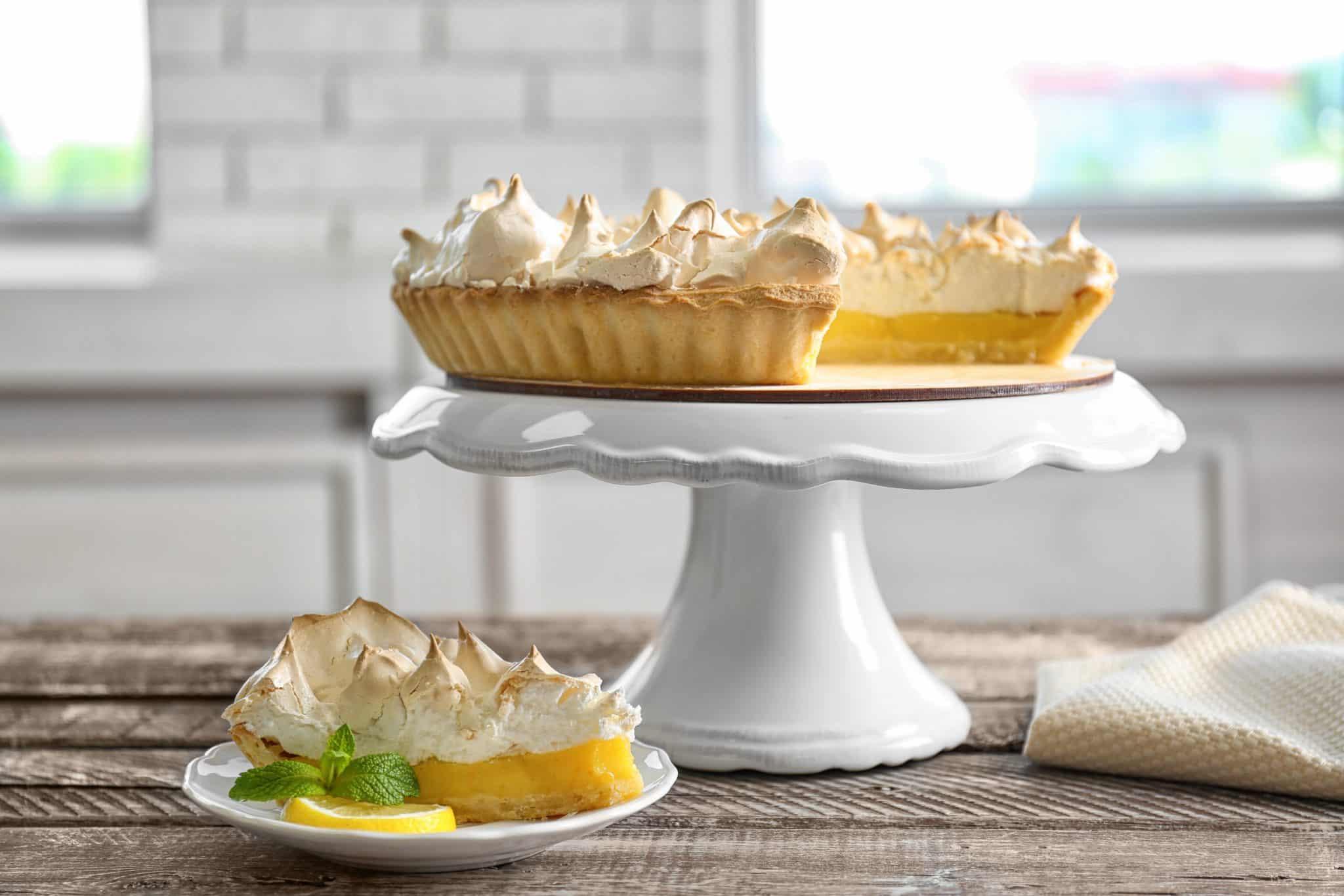 immagine della crostata al limone su biancolievito