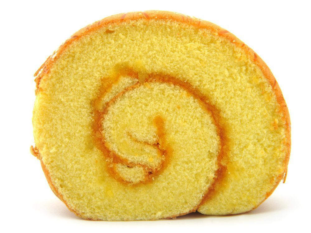 pan di spagna arrotolato