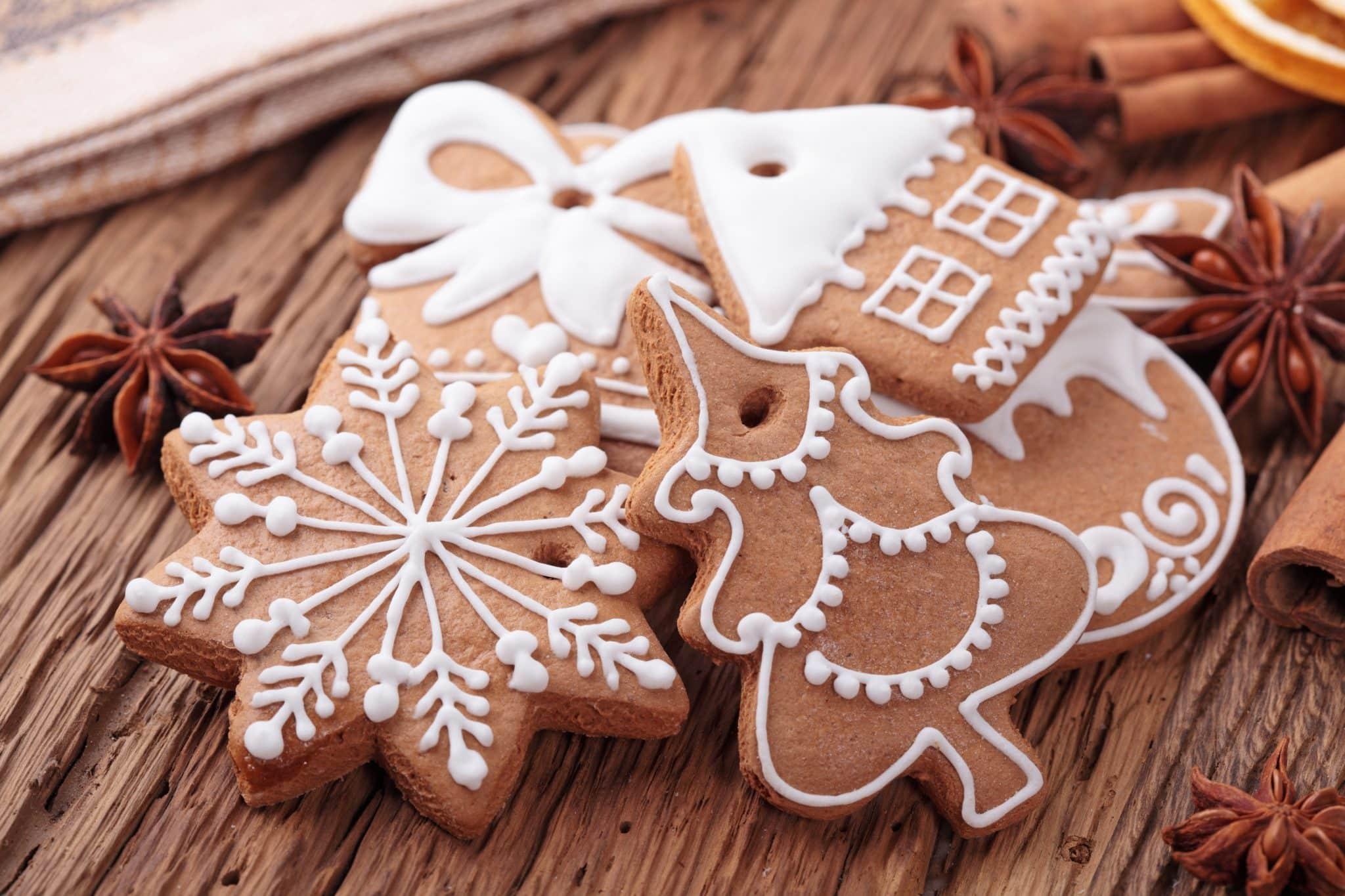 immagine dei biscotti di natale biancolievito