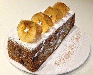 immagine del plumcake alle mele su biancolievito
