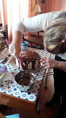 immagine della preparazione della torta alla nutalla su biancolievito