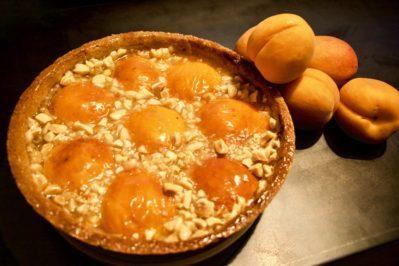 Crostata di Albicocche alle Mandorle