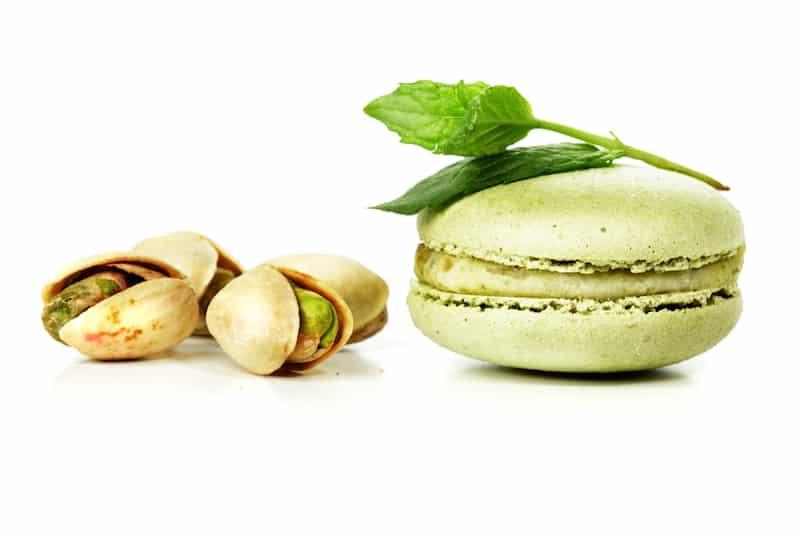 macarons verdi al pistacchio di biancolievito