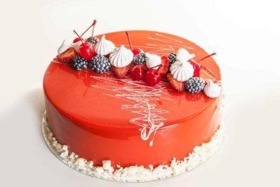 Glassa a Specchio Colorata per decorare la torta