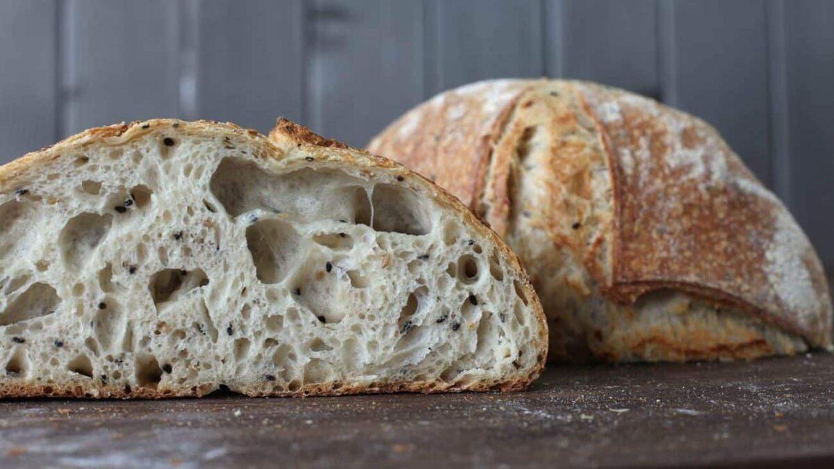 pane fatto con il lievito madre