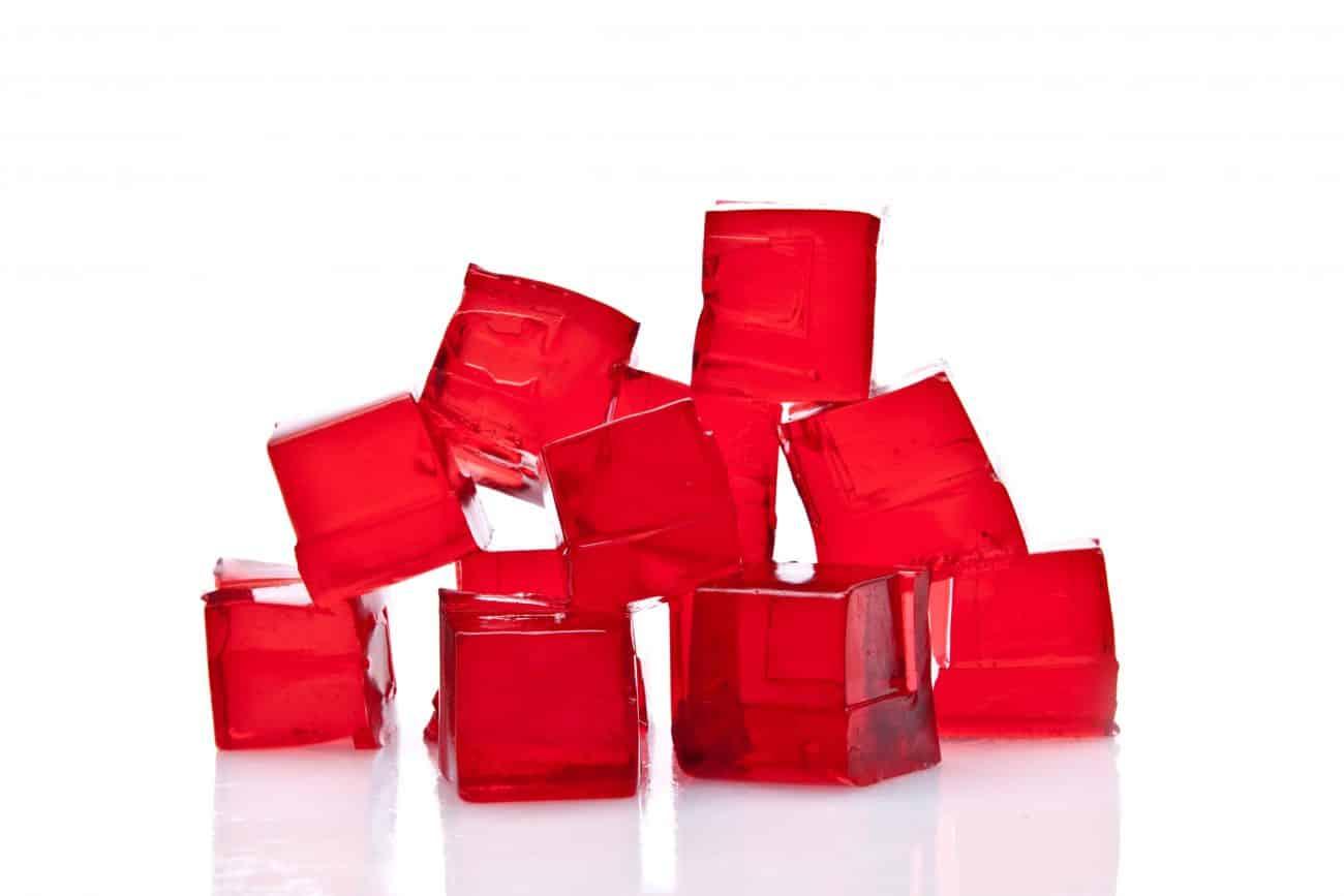 immagine della gelatina alimentare su biancolievito