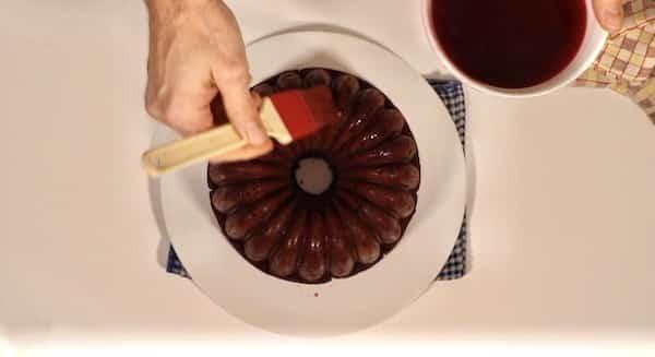 immagine preparazione cake cioccolato e amarene biancolievito 8