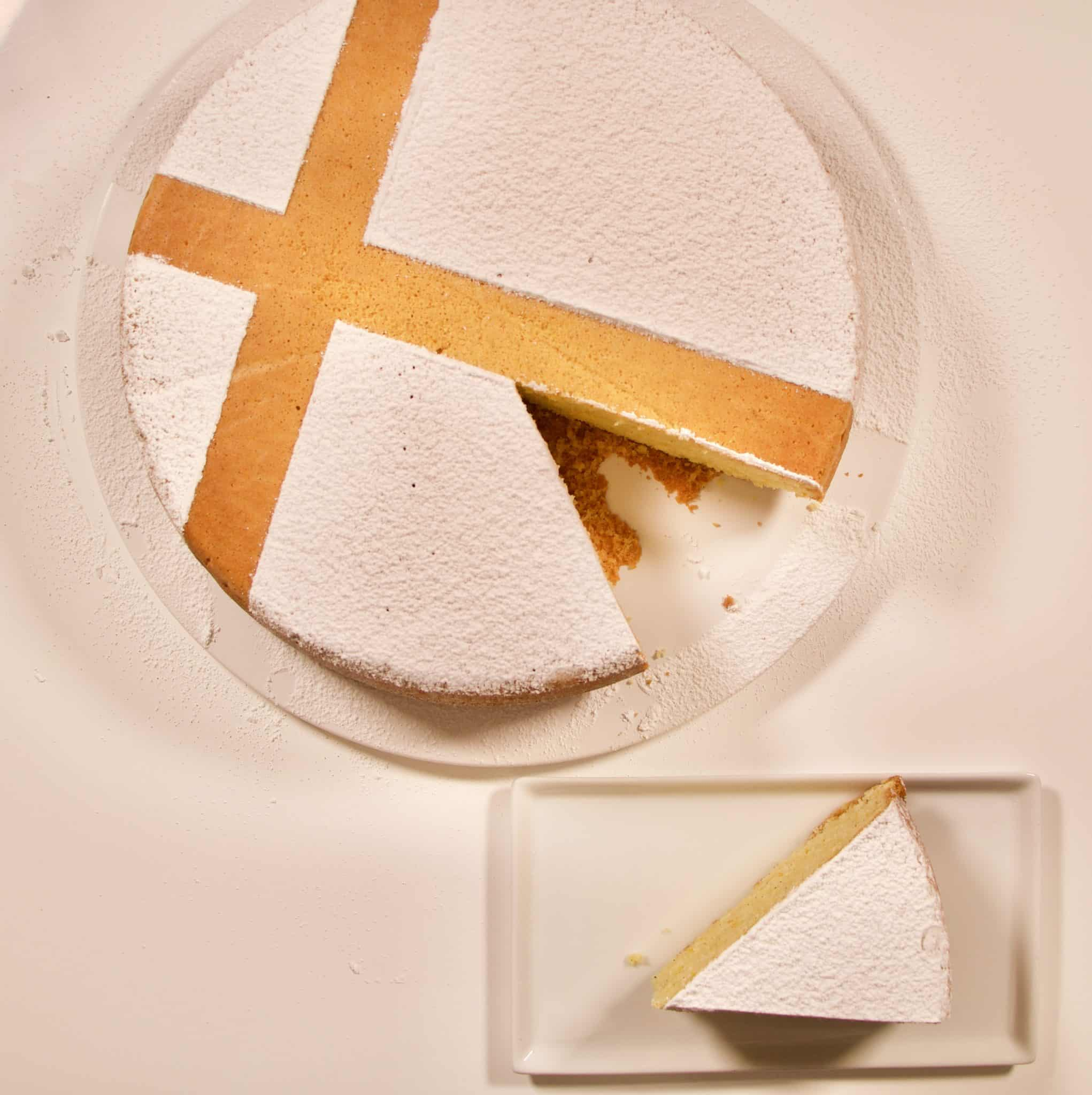 Immagine torta mantovana su biancolievito