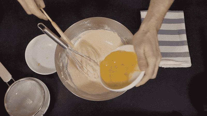 preparazione cotton cake biancolievito 2c