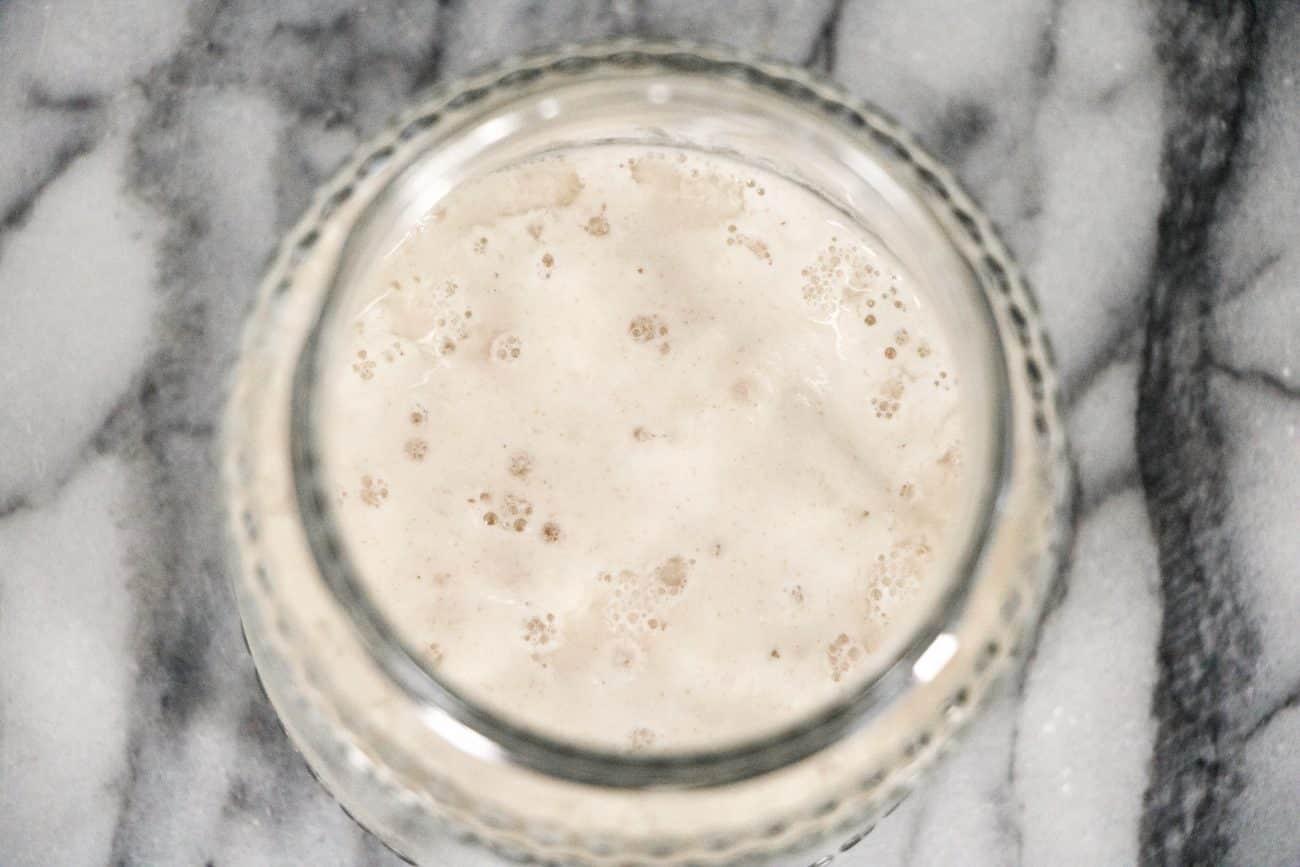 immagine del licoli acido su biancolievito